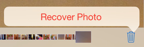iOS 8 Recover Photo