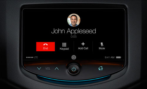 iOS in the Car to debut with Ferrari, Volvo, Mercedes-Benz