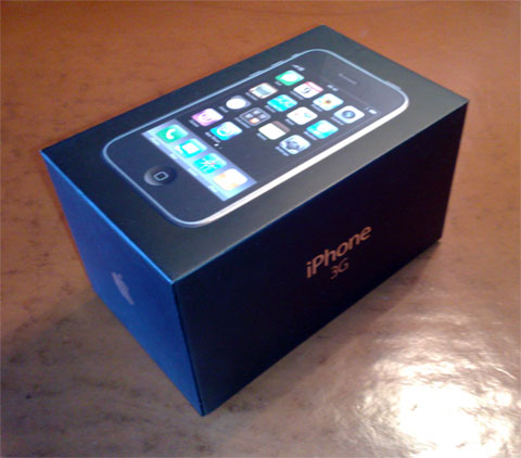 IPhone 3G Unboxing Pictures Surface