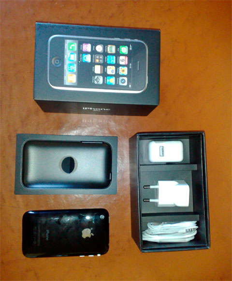 iphone 3g unboxing 3