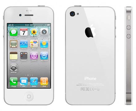 apple iphone 4 white in production