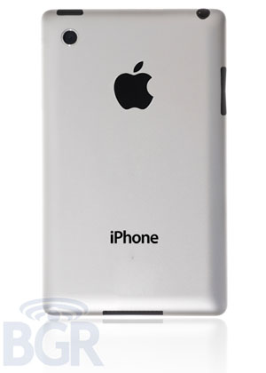iPhone 5 BGR aluminum back