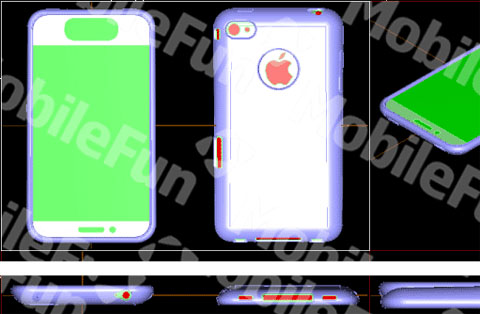 iPhone 5 case reveals complete redesign