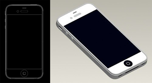 apple iphone 5 leaked CAD drawings big display