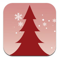 apple iphone application SnapShot Holiday card