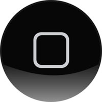 iPhone black home button