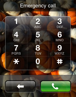 apple iphone lock screen emergency call security hole