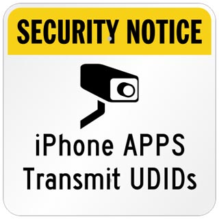 apple iphone app privacy security UDID