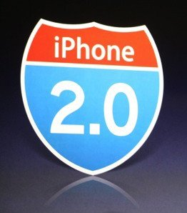 iphone 2.0 road sign