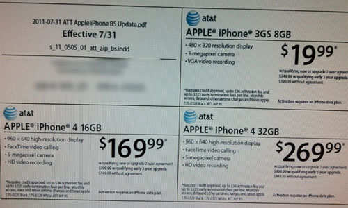 iPhone 4 Target Radio Shack prices