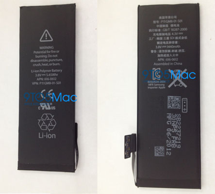 iPhone 5 next generation battery