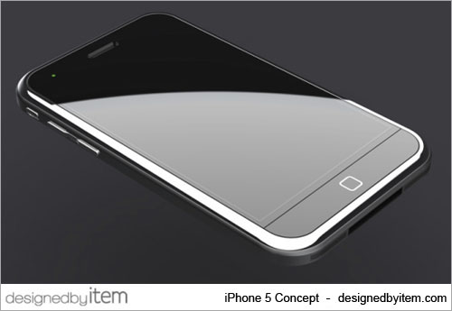apple iphone 5 next generation concept designed by item