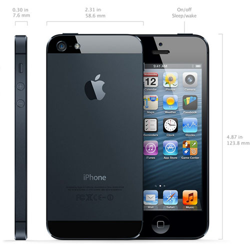 iPhone 5 black official release