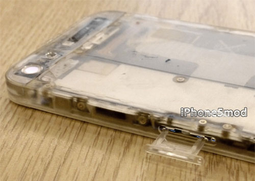 iPhone 5 translucent clear housing