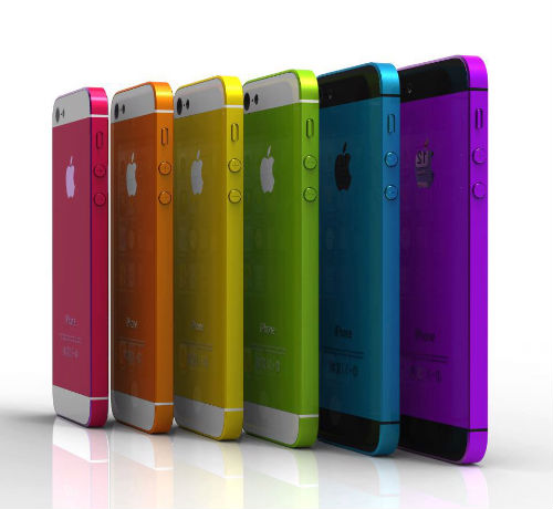 Next Generation Rumors Point To Multicolored IPhones