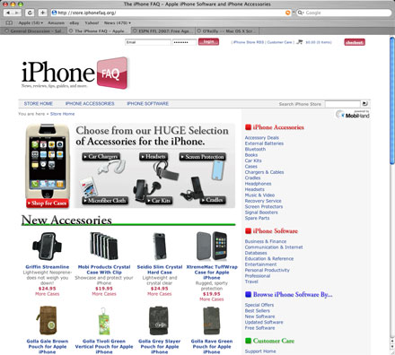 the iphonefaq online store for iphone accessories