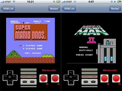 nintendo nes comes to the iphone