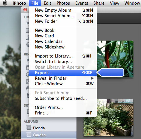 How to Export Photo Files from iPhoto | The iPhone FAQ