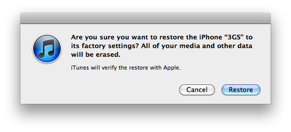 reset to factory settings iphone how can i restore iphone to factory settings with itunes 17971