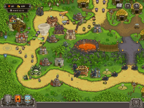 Kingdom Rush vs. Plants Vs. Zombies