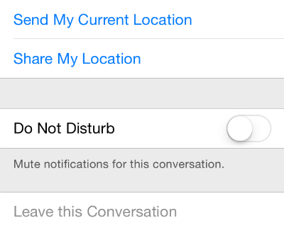 iOS 8 Group Messaging