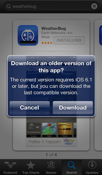 Iphone 3g And 3gs Owners Can Now Download Older Versions