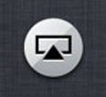apple iphone airplay icon