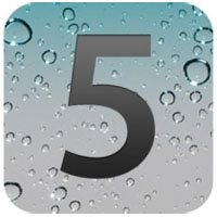 iOS 5 logo Apple list of features apps