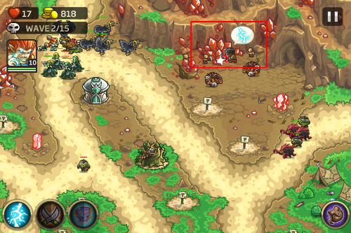 "Kingdom Rush Origins Hulking Rage""  title="