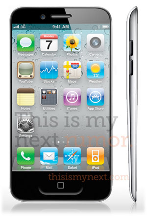 iphone 5 mockup slim iPod touch