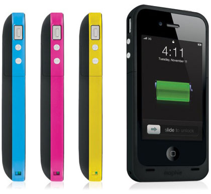 apple iphone 4 mophie juice pack plus