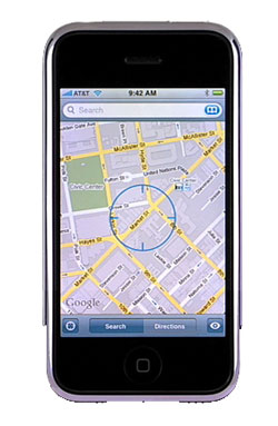 new google maps in iphone 1.1.3