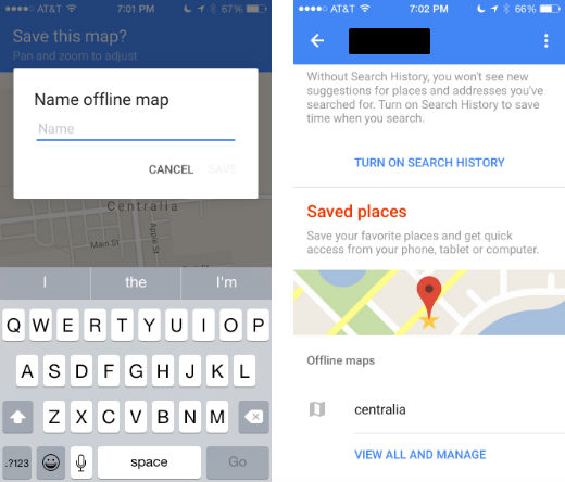 How to use maps offline on your iPhone.