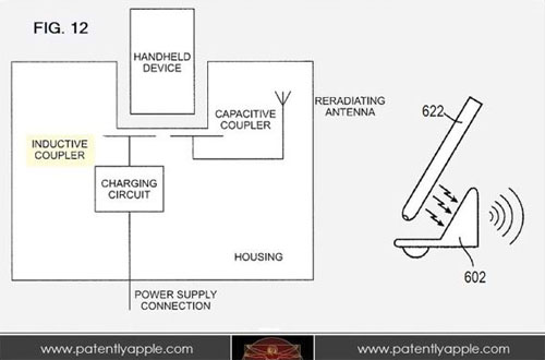 Apple patent inductive charger