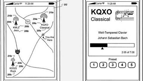 apple iphone 5 patent fm am radio