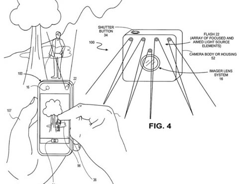 apple iphone patent flash redirect