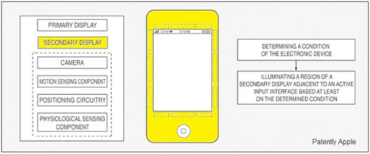 apple iphone smart bezel concept