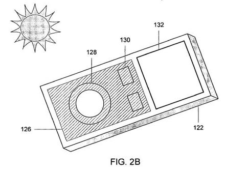 Apple patent solar iPhone