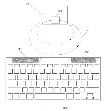 Apple Patent NFMR charging