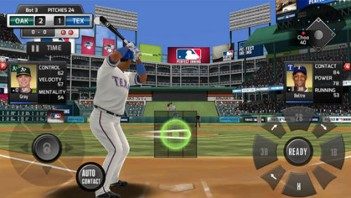 iPhone Baseball Games