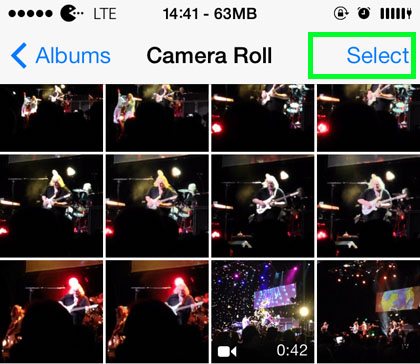 how to add photos to tinder from camera roll