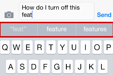 turn on predictive text iphone how do i disable predictive keyboard word suggestion in 18120