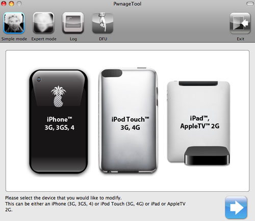 iPhone Dev-Team Pwnage Tool 4.2 Mac OS X