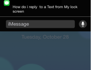 how to lock messages on iphone how to quickly reply to a message from your iphone lock 18903