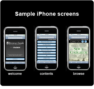 harper collins ebooks on the apple iphone