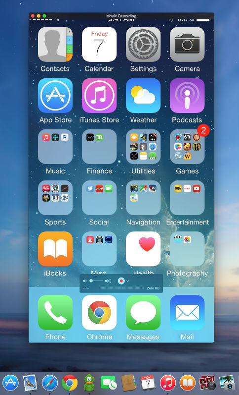 Screenshoot Iphone
