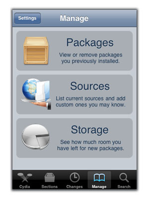 SemiTether package iOS 5 jailbreak step 1