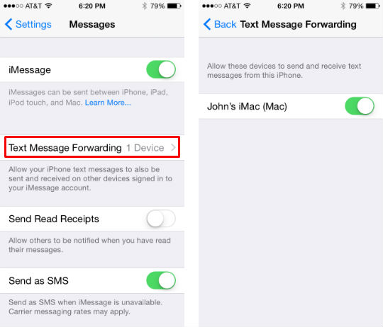 How to send and receive SMS texts on your Mac
