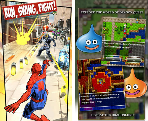 Dragon Quest I, Spider-Man Unlimited