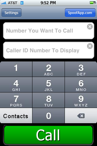 funny numbers to call. 6) Enter the number you want